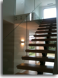 Disc Fixed Balustrade on Stairs and Landing